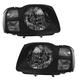 1ALHP00445-2002-04 Nissan Xterra Headlight Pair