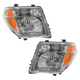 1ALHP00442-Nissan Frontier Pathfinder Headlight Pair