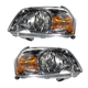 1ALHP00439-2005-06 Mazda Tribute Headlight Pair