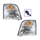 1ALHP00436-2002-05 Mercury Mountaineer Headlight Pair