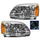 1ALHP00430-2004-12 Mitsubishi Galant Headlight Pair