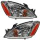 1ALHP00431-Mitsubishi Lancer Headlight Pair