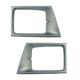 1ALHP00848-1992-96 Ford Headlight Bezel Pair