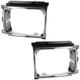 1ALHP00849-Toyota 4Runner Pickup Headlight Bezel Pair