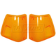1ALPP00377-1988-96 Volvo WC WI Corner Light Lens Pair