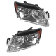 1ALHP00830-2007-09 Scion tC Headlight Pair