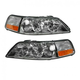 1ALHP00867-2005-11 Lincoln Town Car Headlight Pair