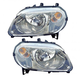 1ALHP00868-2007-10 Chevy HHR Headlight Pair