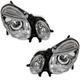 1ALHP00855-Mercedes Benz Headlight Pair