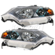 1ALHP00888-2010-11 Honda Insight Headlight Pair