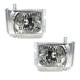 1ALHP00887-2008-13 Headlight Pair