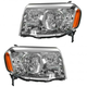 1ALHP00883-2009-11 Honda Pilot Headlight Pair