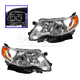 1ALHP00884-2009-13 Subaru Forester Headlight Pair