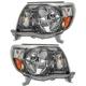 1ALHP00876-2005-11 Toyota Tacoma Headlight Pair