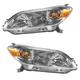 1ALHP00875-2009-13 Toyota Matrix Headlight Pair