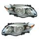 1ALHP00874-2009-10 Toyota Corolla Headlight Pair