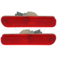 1ALPP00349-Honda Accord Prelude Side Marker Light Rear Pair
