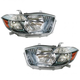 1ALHP00871-2008-10 Toyota Highlander Headlight Pair