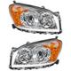1ALHP00895-2009-12 Toyota Rav4 Headlight Pair