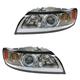 1ALHP00892-2008-11 Volvo S40 V50 Headlight Pair