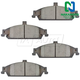 1ABPS00100-Brake Pads Nakamoto CD727