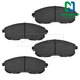 1ABPS00101-Brake Pads  Nakamoto CD815