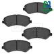 1ABPS00103-Brake Pads