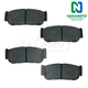 1ABPS00107-Brake Pads Rear
