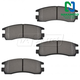 1ABPS00126-Brake Pads Rear