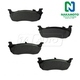 1ABPS00125-Brake Pads Rear Nakamoto MD879
