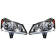 1ALHP00820-2009-12 Chevy Traverse Headlight Pair