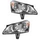 1ALHP00819-2009-12 Chevy Traverse Headlight Pair