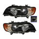 1ALHP00812-2000-03 BMW X5 Headlight Pair