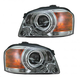 1ALHP00815-2003-04 Kia Magentis Optima Headlight Pair