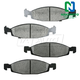 1ABPS00130-Jeep Grand Cherokee Brake Pads Front