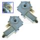 1AWMK00056-BMW Power Window Motor Pair