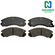 1ABPS00023-Brake Pads Front Nakamoto MD530