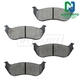 1ABPS00019-2002-05 Brake Pads Rear