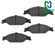 1ABPS00017-Ford Mustang Brake Pads