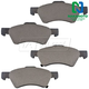 1ABPS00051-Brake Pads Front Nakamoto MD857
