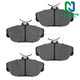 1ABPS00045-Brake Pads Front