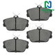 1ABPS00048-Brake Pads Front  Nakamoto MD598