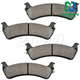 1ABPS00072-Brake Pads Rear