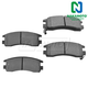 1ABPS00070-Brake Pads Rear Nakamoto MD698