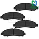 1ABPS00077-Brake Pads  Nakamoto MD1039