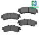 1ABPS00069-Brake Pads Rear
