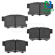 1ABPS00094-Brake Pads Nakamoto CD537