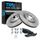 1ABFS01006-2011-12 Ford Taurus Brake Pad & Rotor Kit