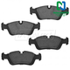 1ABPS00095-BMW Brake Pads Front Nakamoto CD558