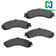 1ABPS00081-Brake Pads Rear